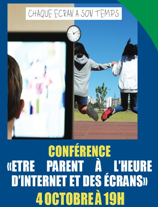 Prochains Evenements Conference Etre Parent A L Heure D